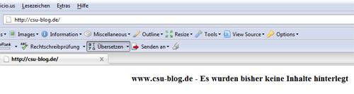 CSU-Blog