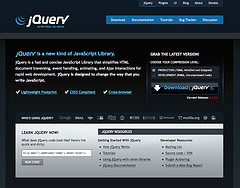 jQuery.com redesign